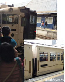 鹿児島中央駅から指宿へ 指宿のたまて箱 いぶたま号