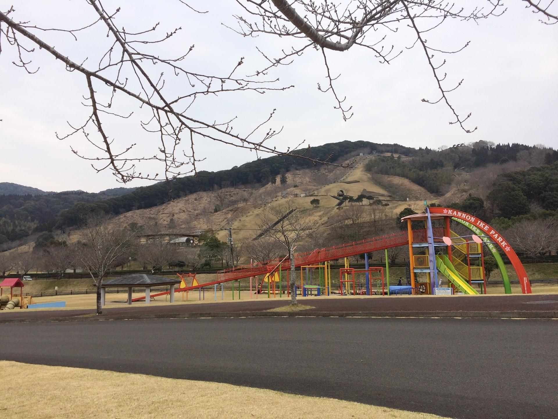 石山観音池公園遊具