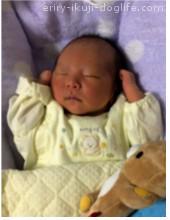 出産後 生後1カ月の息子