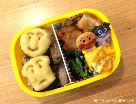 2歳の息子のお弁当おにぎりとおかず