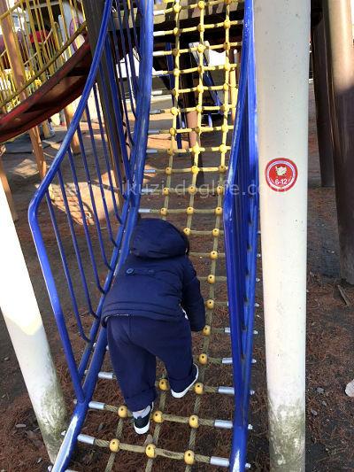2歳の息子は体重15キロ服のサイズは100センチ近くに